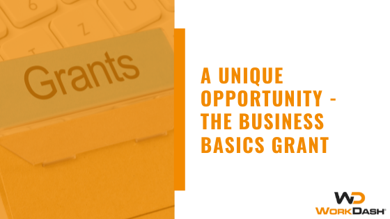 A Unique Opportunity - The Business Basics Grant